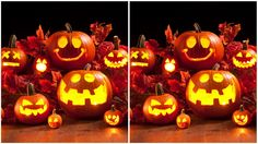 Happy Halloween! There are three little differences between both pictures. Can you spot them all in the left picture? And somebody from our social game #PuzzleAdventures is hiding in the picture, too.    To play #PuzzleAdventures on Facebook click here -> http://apps.facebook.com/puzzleadventures?mcode=wall
