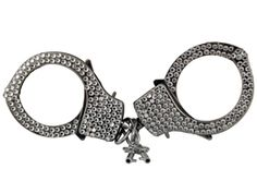 Add some glam to a traditional Hen Night accessory with diamante handcuffs http://www.funkyhen.com/hen-party-novelties/pair-of-diamante-handcuffs/