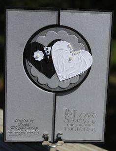Debbi's Design Stamping: Flipped Wedding