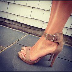❤ little suede heels