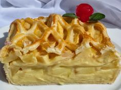 Tarta de Crema y Manzana (Thermomix)