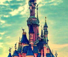Sleeping Beauty's castle.