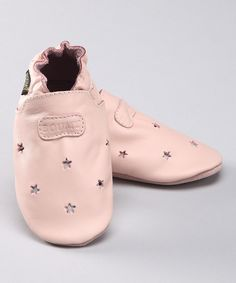 Pink star booties!