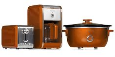 Bella Dots Collection: Toaster, Coffee Maker and Slow Cooker - Orange #BellaDots #BellaLife