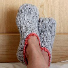 slipper sock pattern