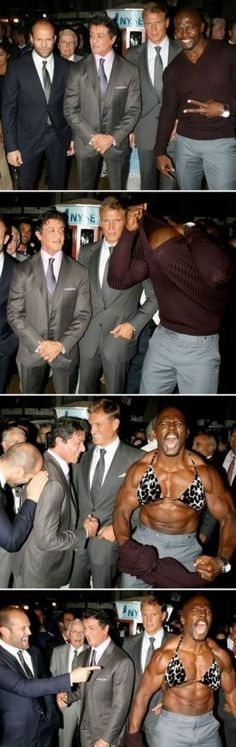 I want to be friends with Terry Crews!