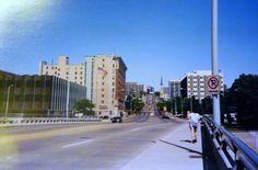 Michigan Street looking east - June, 1992