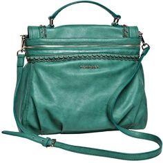 TWIN-SET Simona Barbieri :: Shop Online - Bags - Medium satchel,... ($245) ❤ liked on Polyvore