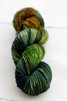 Merino Nylon Sock Yarn  Marsh Series by westernskyknits