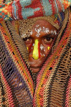 Oceania - Papua New Guinea / Bodypaint פפואה גינאה החדשה  www.papua-by-raz.co.il/papua