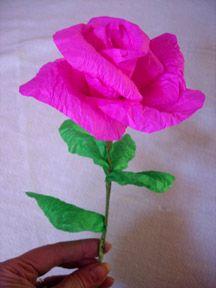 Как сделать простые цветы из бумаги своими