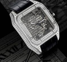 Cartier unique edition Lady white gold and diamond-set eagle bangle watch 2011 No. 1/1 $190,000