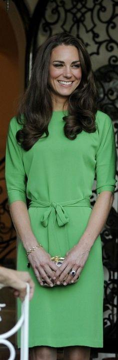 Kate num verde mais clarinho