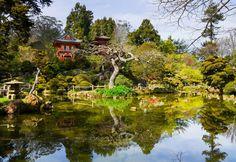 Japanese Tea Gardens, San Francisco, USA.