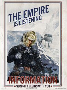 Encounter at Echo Base by Cat Staggs - Star Wars fan art