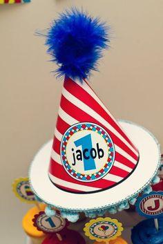 Dr. Seuss party hat