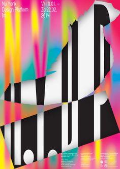 Vincent Vrints, couleurs et typos en affiches