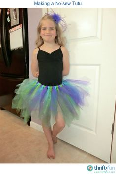 This guide is about making a no-sew tutu. Making a tutu doesn't have to require much sewing.