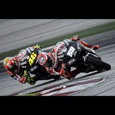 Nicky and Vale #ducatis @Sepang day III.