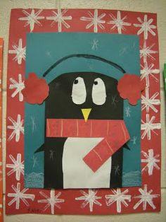 Penguin art -