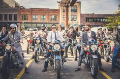 Pronta per la Distinguished Gentleman's Ride? -cosmopolitan.it