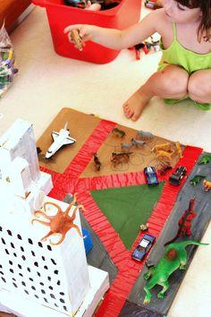 DIY Toy: Cardboard City