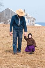 father and daughter, photo by Bill Coleman