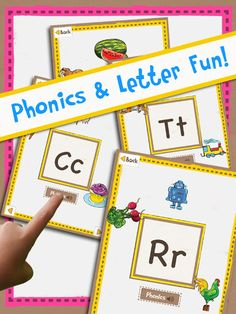 ABC Letter Learing - Writing, Alphabet, Spelling, Handwriting, and Phonics ($1.99) a comprehensive alphabet learning app which includes several activities to support letter comprehension (both upper and lowercase), phonics and real world object association using touch based learning. Comes with a set of printable worksheets and activities that allow your children to write letters both upper and lower case. Reviewed here... http://speechymusings.com/2013/06/05/abc-letter-learning-app-review/