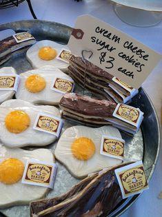 egg + bacon cookies