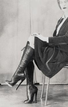 vintage s&m boots