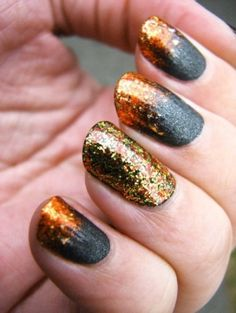 perfect Girl on Fire nails by francine