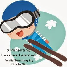 Pebbles and Piggytails: 8 Parenting Lessons Learned While Teaching My Kids to Ski