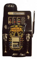 Really old slot machine!
