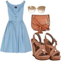 Summer Stroll, created by saratoeppler on Polyvore