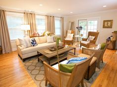 Cottage Living-rooms from Sabrina Soto on HGTV
