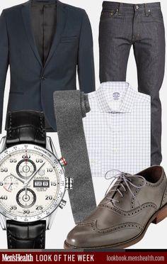 work clothes, dress shirts, outfit, men fashion, club monaco, blazers, sport coat, business casual, shoe