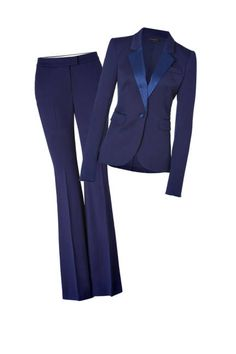 Serious suiting: Rachel Zoe Hutton Tuxedo Blazer and Pants