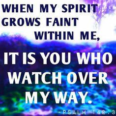 Psalm 142:3