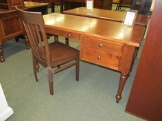 Spring Valley Desk - eclectic - desks - columbus - Geitgey's Amish Country Furnishings