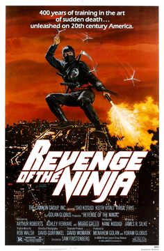 Revenge of the Ninja (1983) is an action movie starring Sho Kosugi as a ninja. It is considered part of a ninja trilogy, starting with Enter the Ninja (1981) and ending with Ninja III: The Domination (1984), but the stories are not directly related. The final battle is considered a battle between good and evil.