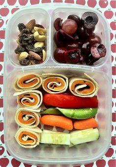 Pinwheels and Veggies #easylunchboxes #bento #backtoschool