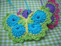 crochet butterfly craft ideas, project, stuff, knit, crochet butterflies, appliqu, pattern for crochet fan, crochet pattern, crochet idea