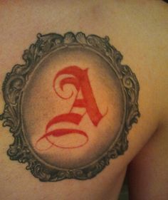 The Scarlet Letter | 12 Tattoos Inspired by Famous Books | Mental Floss