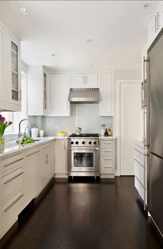 Modern, classic small kitchen