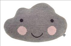 Light #Grey #Cloud #Cushion 45x30 cm from www.kidsdinge.com https://www.facebook.com/pages/kidsdingecom-Origineel-speelgoed-hebbedingen-voor-hippe-kids/160122710686387?sk=wall #kidsdinge #kids #toys #speelgoed