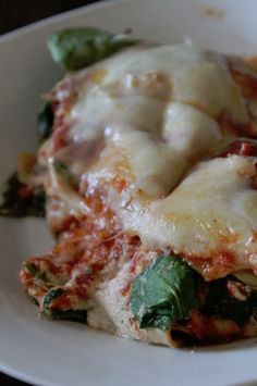 Crock Pot Spinach Lasagna