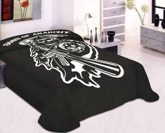 Sons Of Anarchy Reaper Blanket