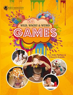"""I'M SO EXCITED! My new book is out: """"52 Wild, Wacky & Weird Games."""" Get 20% off now! http://buff.ly/1nUaITW"""