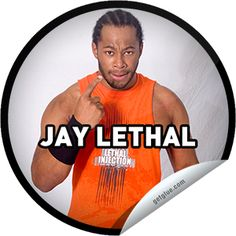 Steffie Doll's Ring of Honor Wrestling: JAY LETHAL Sticker | GetGlue
