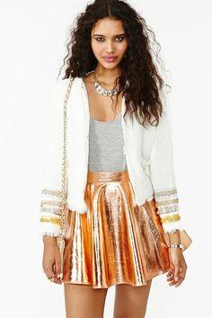 Jeweled Tweed Jacket